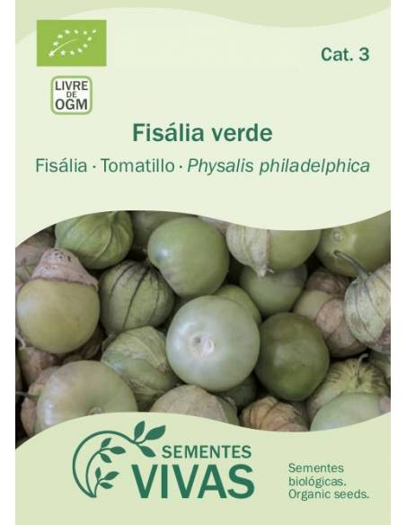Fisália Green Tomatillo organic seeds